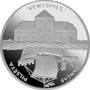 1 Lats (Ventspils) – reverse