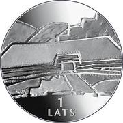 1 Lats (Earth) – reverse
