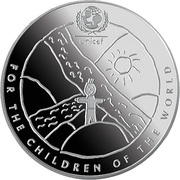 1 Lats (For the Children of the World) – reverse