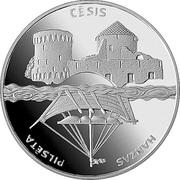 1 Lats (Cesis) – reverse