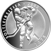 1 Lats (Ice Hockey) – reverse
