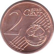 2 Euro Cent -  reverse