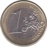 1 Euro -  reverse