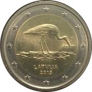 2 Euro (Black Stork) -  obverse