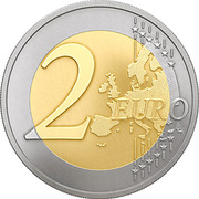 2 Euro (Latvian farming and countryside) -  reverse