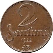 2 Santimi -  reverse