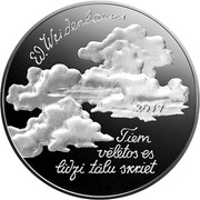 2½ Euro (Eduards Veidenbaums (coin A)) -  obverse