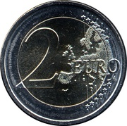 2 Euro (Kurzeme) -  reverse