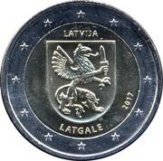 2 Euro (Latgale) -  obverse