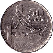 50 Santimu – reverse