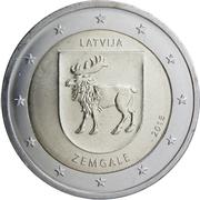 2 Euro (Zemgale) -  obverse