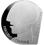 5 euro (Niklāvs Strunke) -  obverse