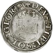 1 Batzen - Georg III. – reverse