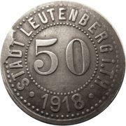 50 Pfennig - Leutenberg in Thüringen – obverse