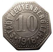 10 Pfennig - Leutenberg in Thüringen – obverse