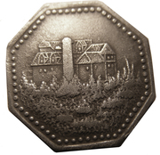10 Pfennig - Leutenberg in Thüringen – reverse