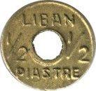 ½ Ghirsh / Piastre (WW2 War Coinage) – obverse