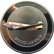 5 Līrāt / Livres (MEA, Douglas DC-3) -  reverse