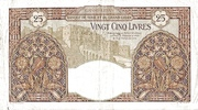 25 Livres (LIBAN 1939) – reverse