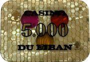 5000 Livres - Casino Du Liban – obverse