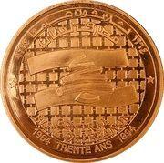 Medal - BDL 30th Anniversary (Bronze) – obverse