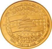 Medal - BDL 30th Anniversary (Copper Gilt) – obverse