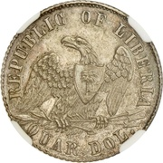 ¼ Dollar – obverse