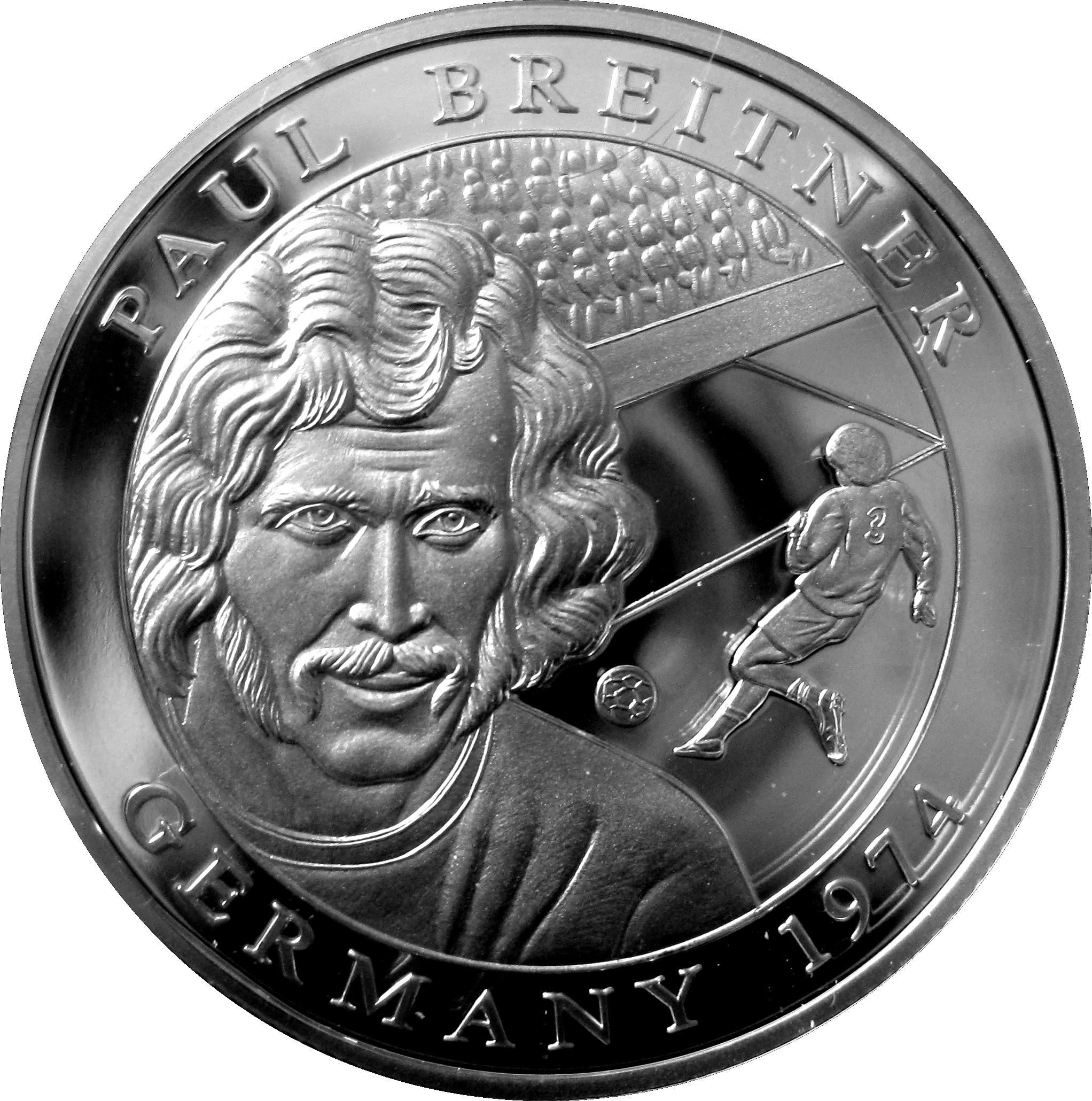 10 Dollars Paul Breitner Liberia – Numista
