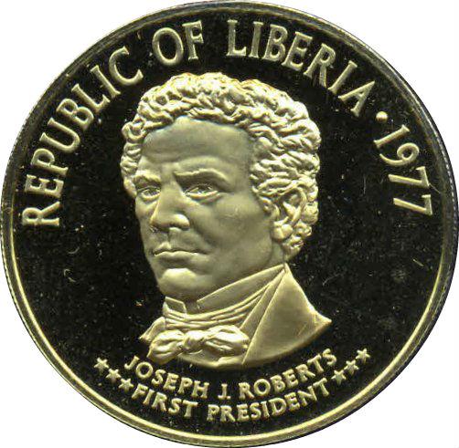 100 Dollars (130th Anniversary of the Republic) - Liberia