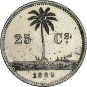 ¼ Dollar – reverse