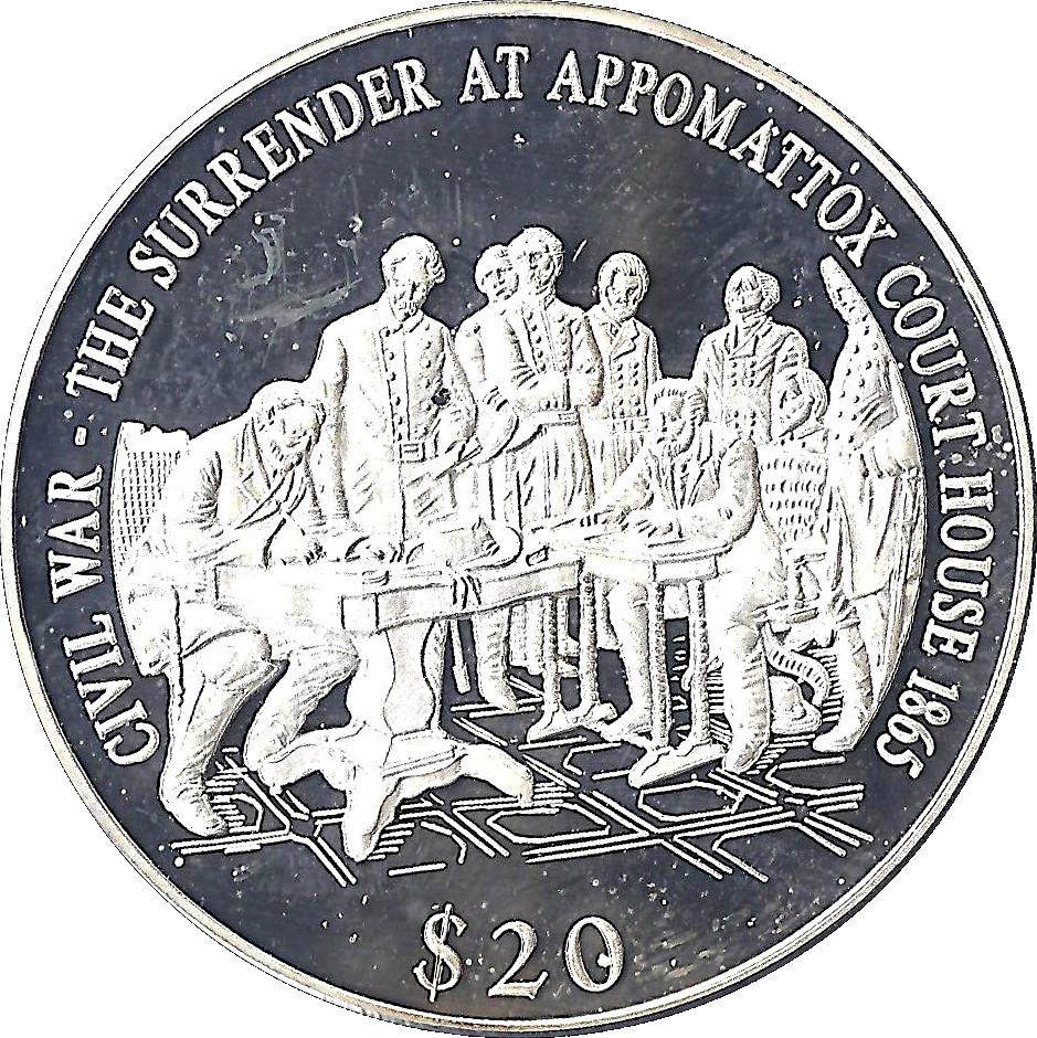 20 Dollars (Surrender At Appomattox Court House)