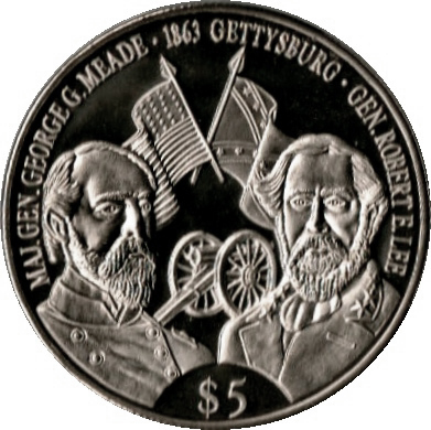 5 Dollars Battle Of Gettysburg