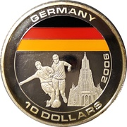 10 Dollars (Germany) – reverse