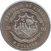 5 Dollars (Titanic with 5$) – obverse