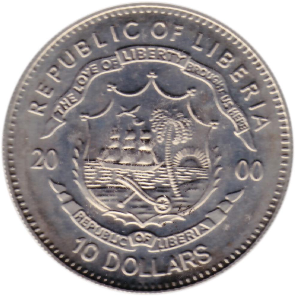 10 Dollars John F Kennedy