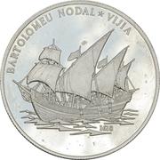 10 Dollars (Bartolomeu Nodal Vijia) -  reverse
