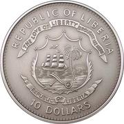 10 Dollars (Sundial) -  obverse