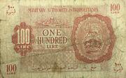 100 Lire – obverse