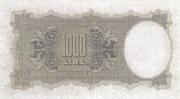 1 000 Lire – reverse