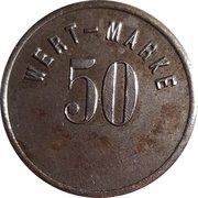 50 Pfennig - Lichtenau (Act. Ges. Glückauf) – reverse