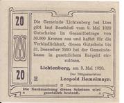 20 Heller (Lichtenberg) -  reverse