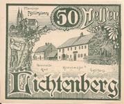 50 Heller (Lichtenberg) -  obverse