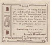10 Heller (Lichtenberg) -  reverse