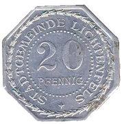 20 Pfennig - Lichtenfels (Bamberger Tor)