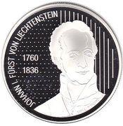 10 Franken - Johann I (200 Years of Sovereignty) – obverse