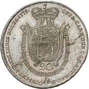 20 Kreuzer - Franz Joseph I – reverse
