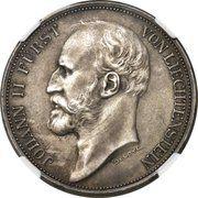 5 Kronen - Johann II (Pattern) – obverse