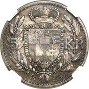5 Kronen - Johann II (Pattern) – reverse