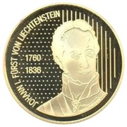 50 Franken - Johann I (200 Years of Sovereignty) – obverse