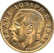 10 Franken - Franz Josef II – obverse